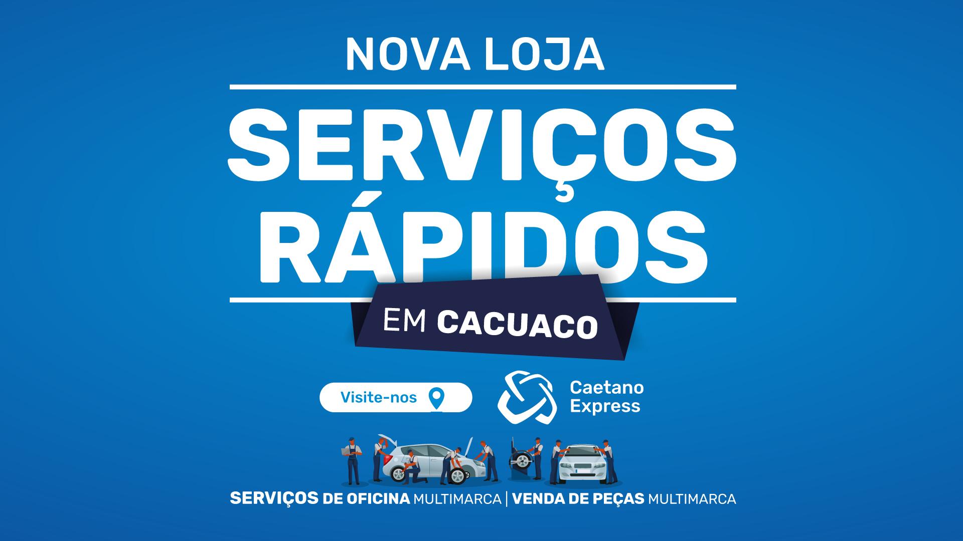 Abertura Caetano Express